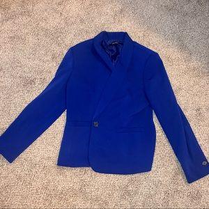 Nine West royal blue blazer size 12